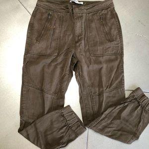 ZARA BASICS Z1975 DENIM-olive jeans women's 4